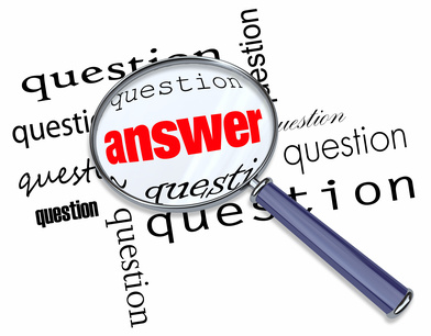 Questions and Answers - Magnifying Glass on Words