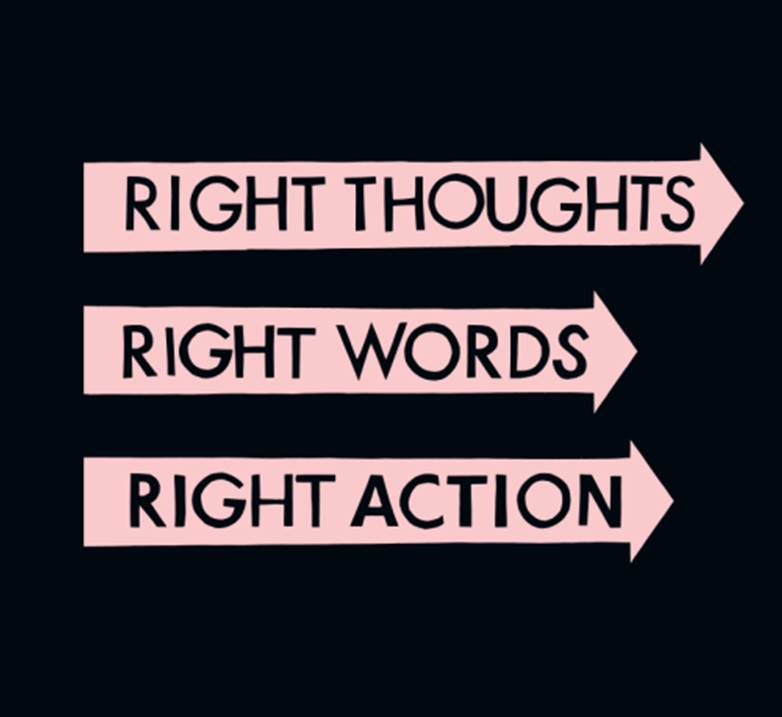 rightthoughtsrightwordsrightactionfranzferdinand