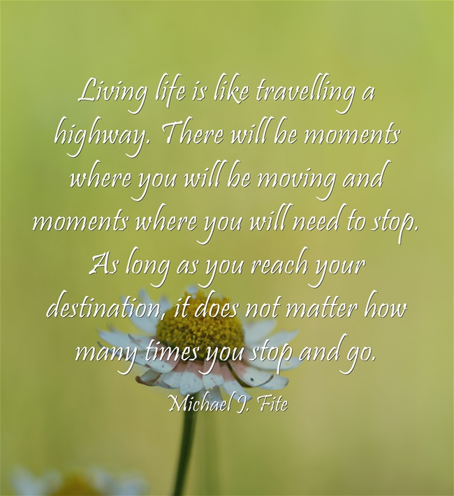 living-life-is-like